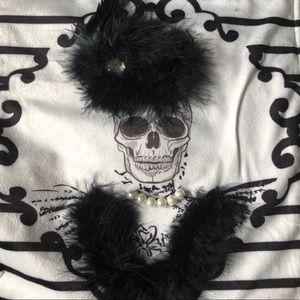 Amazing skull table runner